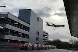 Plane flies in to reopened Gatwick Airport