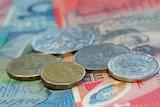 Generic photo of Australian currency.