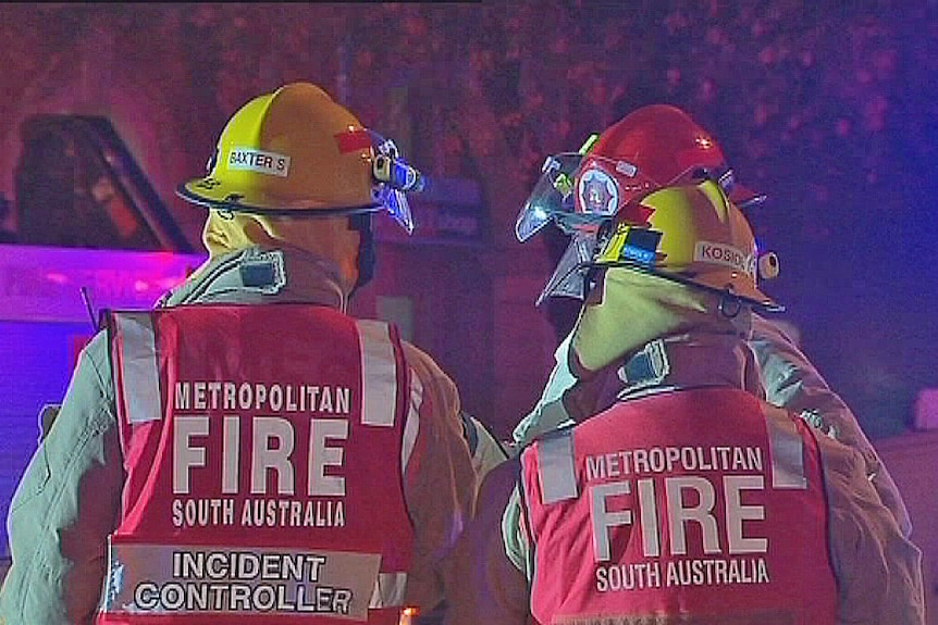 SA Fire officers