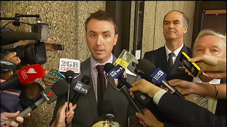 Ashby 'disappointed' with decision to throw out Slipper case