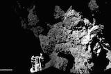 Philae on surface