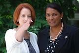 Julia Gillard and Nova Peris