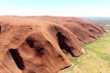 Uluru from above.