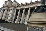 Exterior image of the Victorian Parliament.