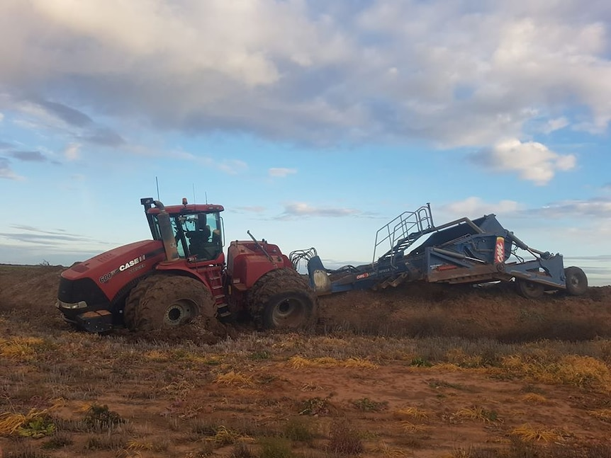 Nick McClure bogged