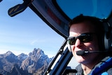 British Helicopter pilot Roger Gower was shot down in Tanzania.