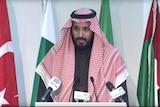Saudi Arabian Deputy Crown Prince Mohammed bin Salman.