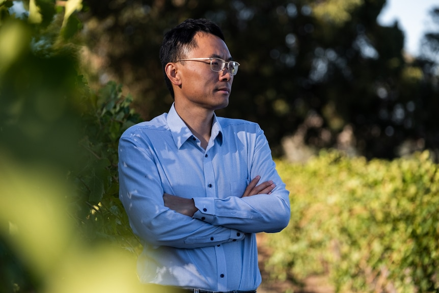 Jason Zhou, owner of Orchid Wines.