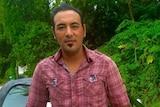 Iranian refugee Omid Masoumali