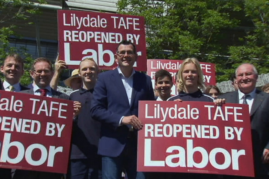 Andrews Government reopens Lilydale TAFE