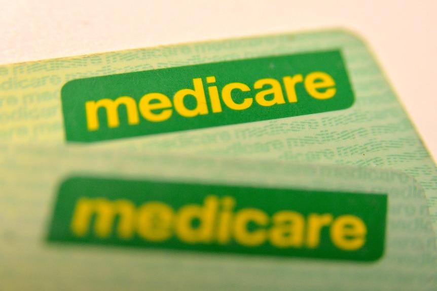 Medicare cards.