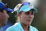 Lexi Thompson cries after losing the ANA International in a playoff