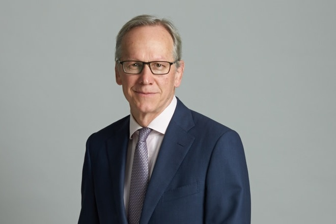 Geoff Wilson, the founder of Wilson Asset Management