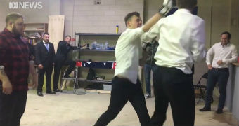 A secret fight club attracts members of the alt-right