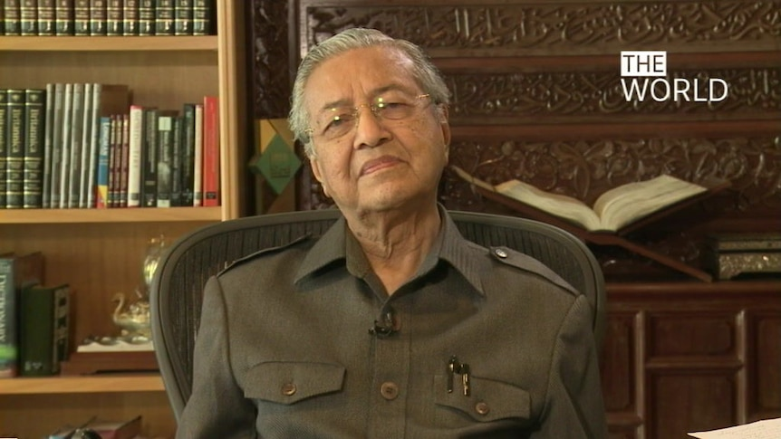 Dr Mahathir Mohamad talks to The World about his re-entry into politics.