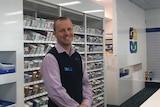 New Town pharmacist Jon Mathers