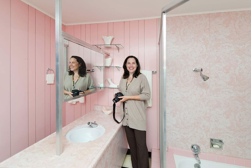 Pam Kueber from Save Pink Bathrooms