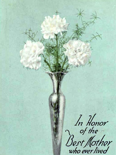 Mother's Day postcard 1916