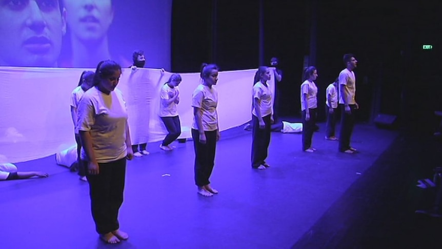 Young refugees in Western Sydney take to the stage
