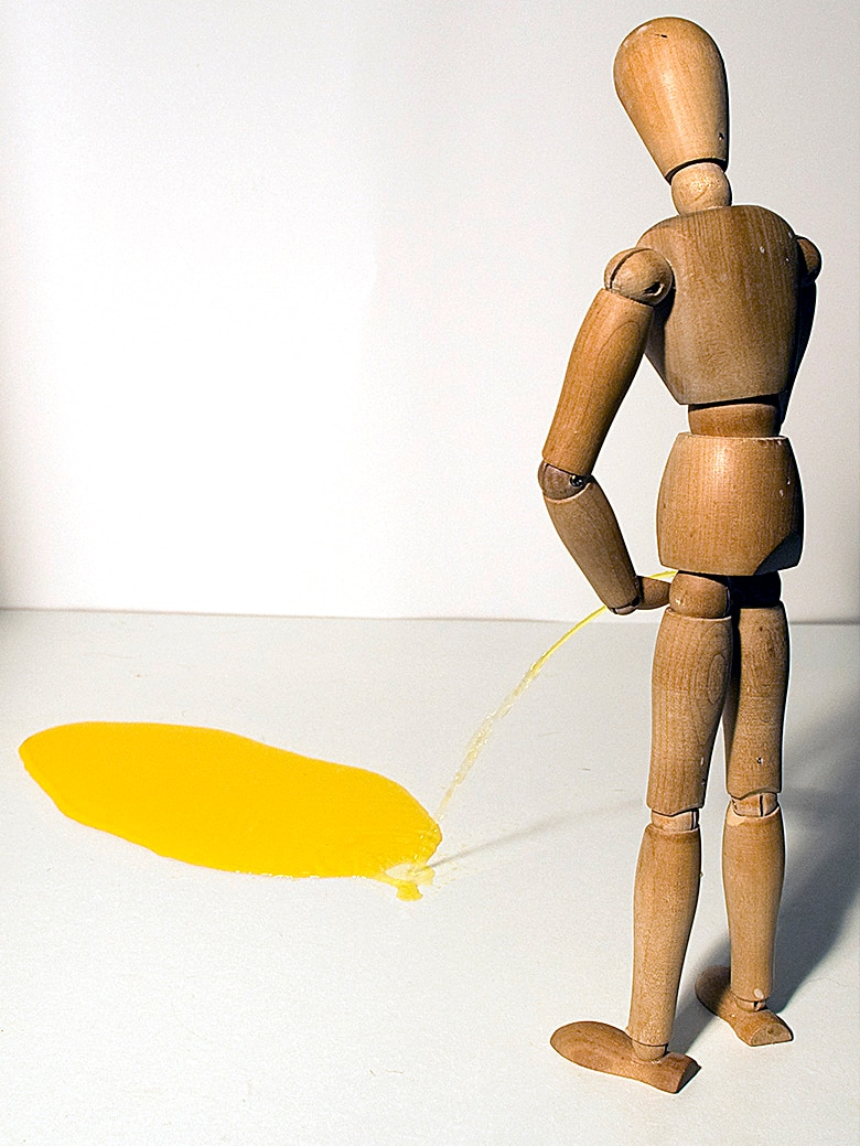 Image of peeing doll