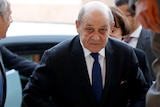 """The conmen allegedly posed as Jean-Yves Le Drian to solicit money for """"secret operations""""."""
