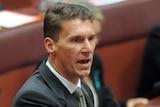 Cory Bernardi says Section 18C is a 'grotesque limitation on ordinary political discourse'.
