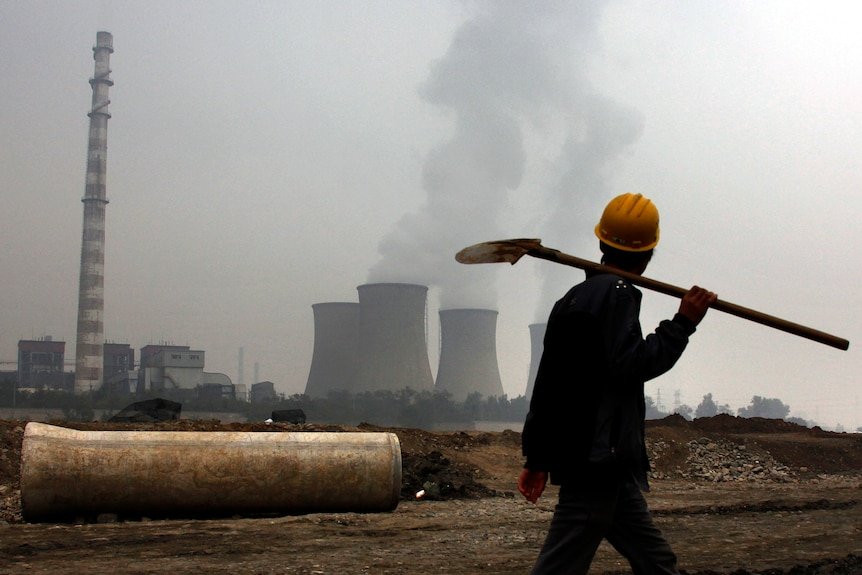 Coal-fired power station in China