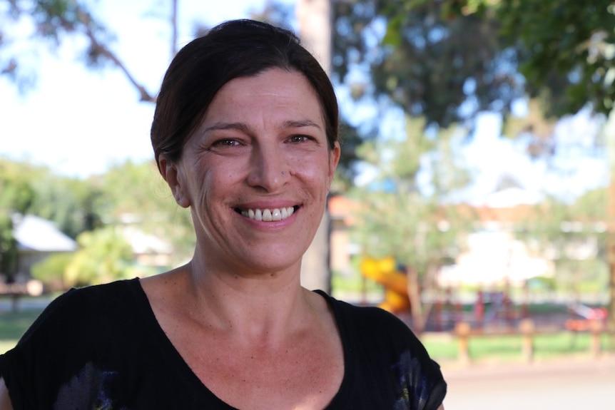 A smiling Jasmina Brankovich.