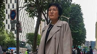 North Korean defector.