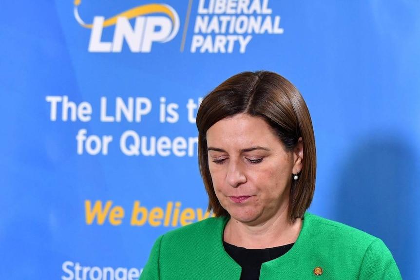 Queensland LNP Leader Deb Frecklington