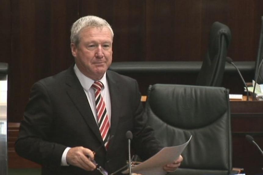 Bryan Green in Parliament
