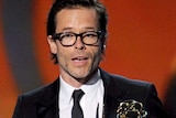 Guy Pearce wins Outstanding Supporting Actor in a Miniseries or Movie award at the Emmys