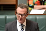 Education Minister Christopher Pyne in Parliament