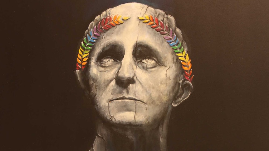 Malcolm Turnbull as portrayed by Kirsten Button in Friends And Romans (Rainbow Flavour), .