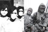 Brisbane nurses wear face masks, South Korean workers disinfect a street