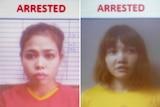 Indonesian suspect Siti Aisyah and Vietnamese suspect Doan Thi Huong.