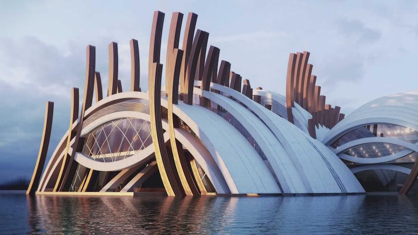 Shane O'Riley's bold design for a Perth International Concert Hall