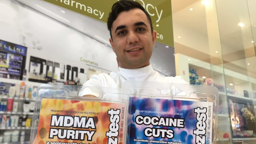 Vincentia Pharmacy the first to sell pill testing kits