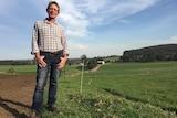 Paul Mumford on his farm.
