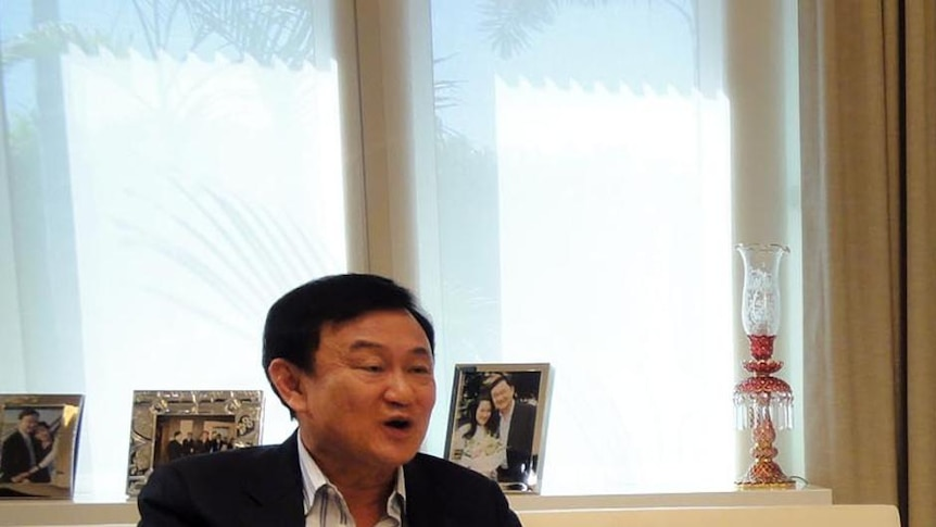 Thaksin Shinawatra speaks with Zoe Daniel