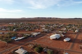 An aerial photo of Yuendumu
