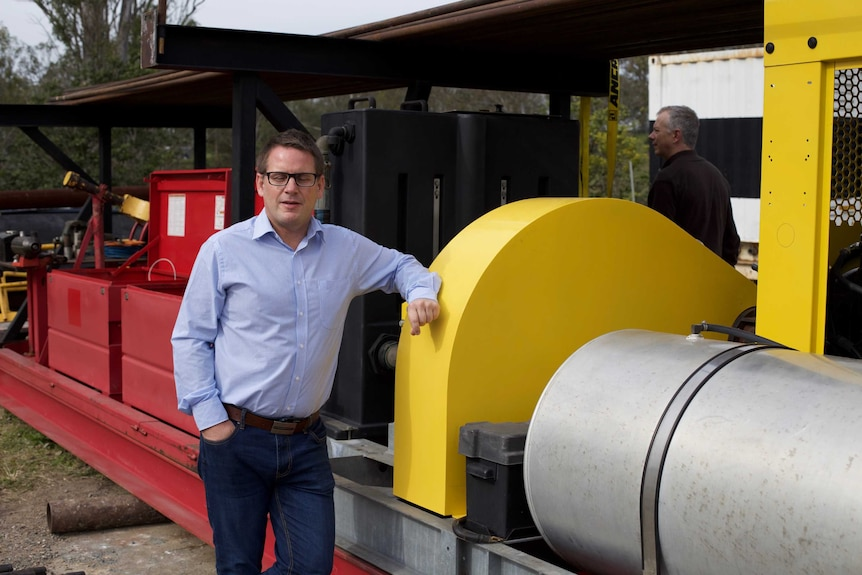 V2H CEO Darren Rice has already entered into contracts for the water-drill technology to replace fracking
