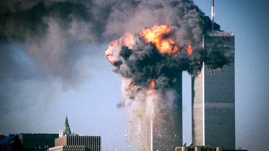 As the twin towers burned on September 11, hundreds of people became  trapped in narrow stairwells - ABC News