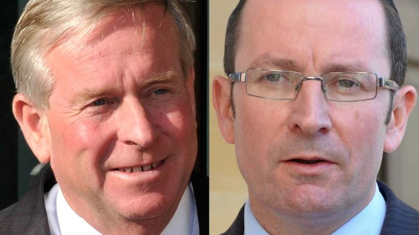 Barnett and McGowan face off in the leaders debate