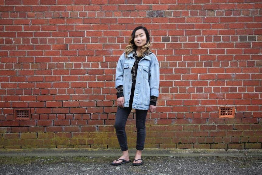 Sasmika Rai, 20, refugee from Bhutan