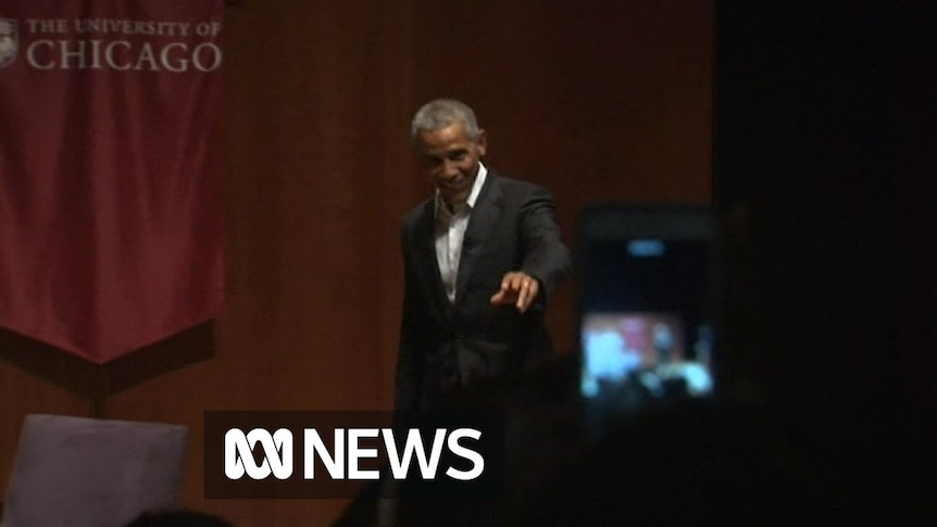 Former President Barack Obama has made his return to the public eye