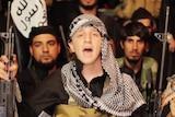 Australian teenager Abdullah Elmir, who uses the alias Abu Khaled