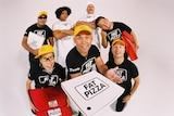 The comedy 'Fat Pizza'