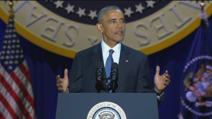 Highlights: Key moments from Barack Obama's farewell address.