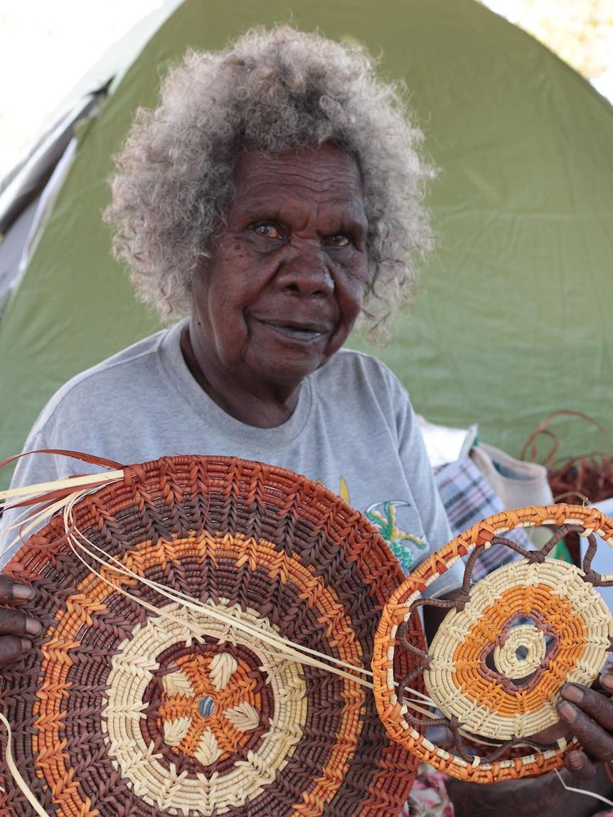 Older Aboriginal woman